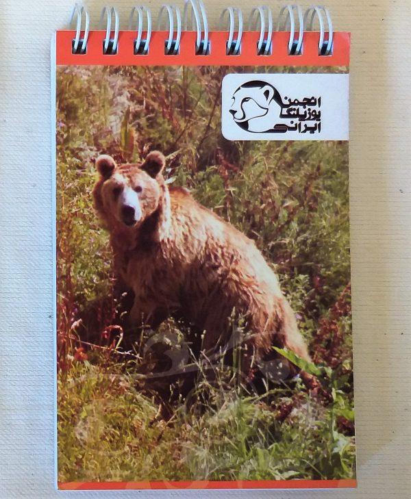 دفترچه یادداشت خرس و آهو